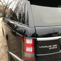 Установка антигравийной полиуретановой плёнки FlexiShield на кузов автомобиля Range Rover
