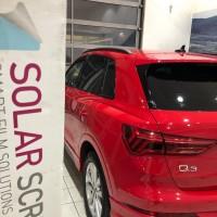 Тонирование стёкол Audi Q3 в Калининграде