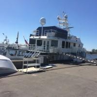 Тонировка стёкол на яхте Калининград