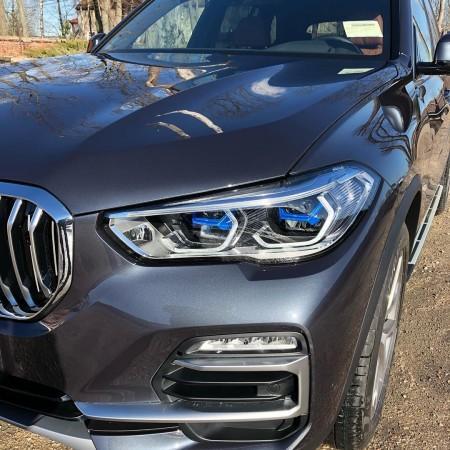 Установка антигравийной плёнки FlexiShield на кузов BMW X5