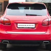 Оклеивание автомобиля Porshe Cayenne плёнкой KPMF (Англия) - Мастерская «БЛИК» г.Калининград